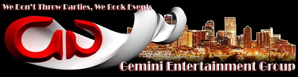 Graphic Design by VizTV Media for Gemini Entertainment Group