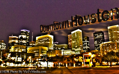 HDR Photography: Houston's Skyline at Night