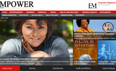 Website Design – For Empower Magazine