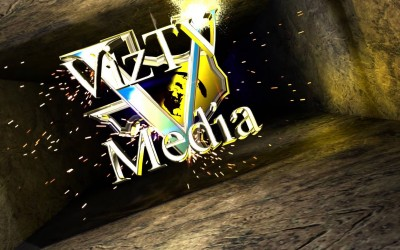 New VizTV Media Logo & Branding Composite