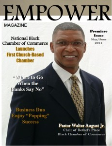 May 2011 Cover for Empower Magazine. Website Design by VizTV Media Services.
