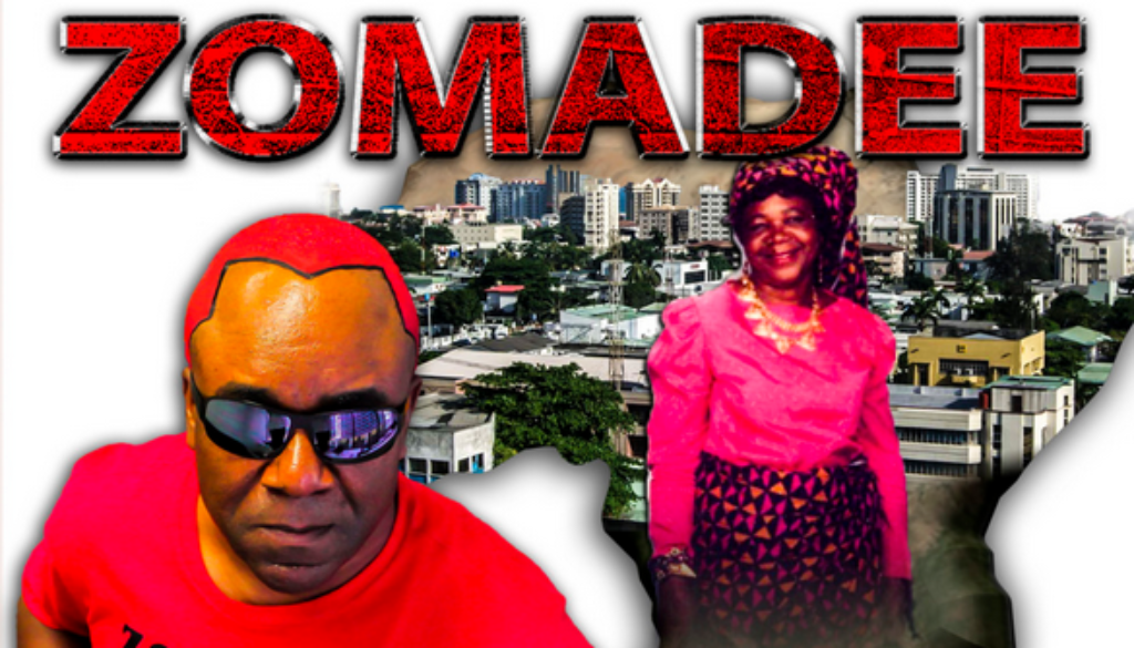Album cover design for Houston singer Zomadee.
