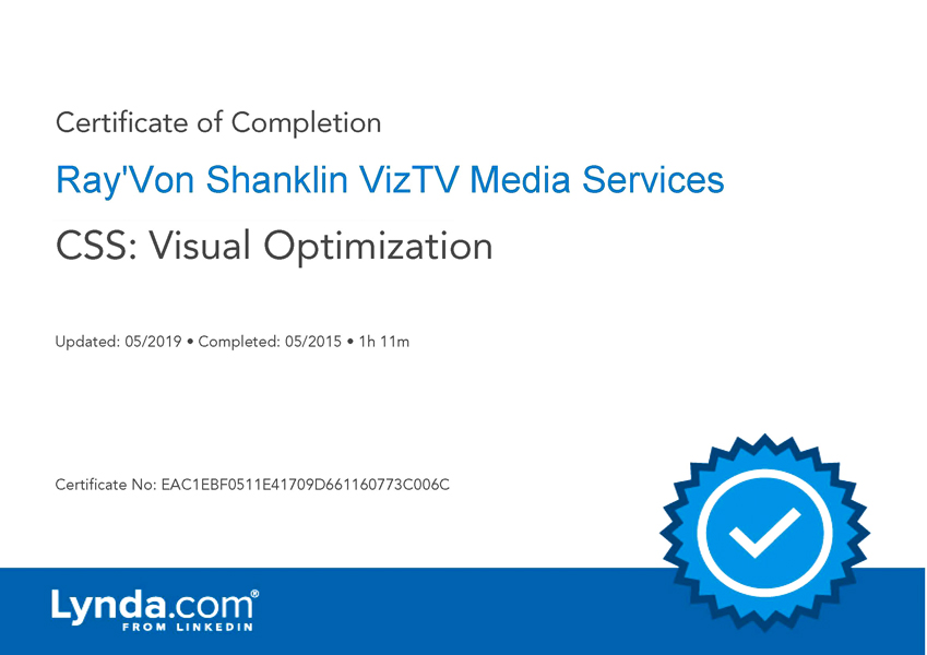 CSS - Visual Optimization