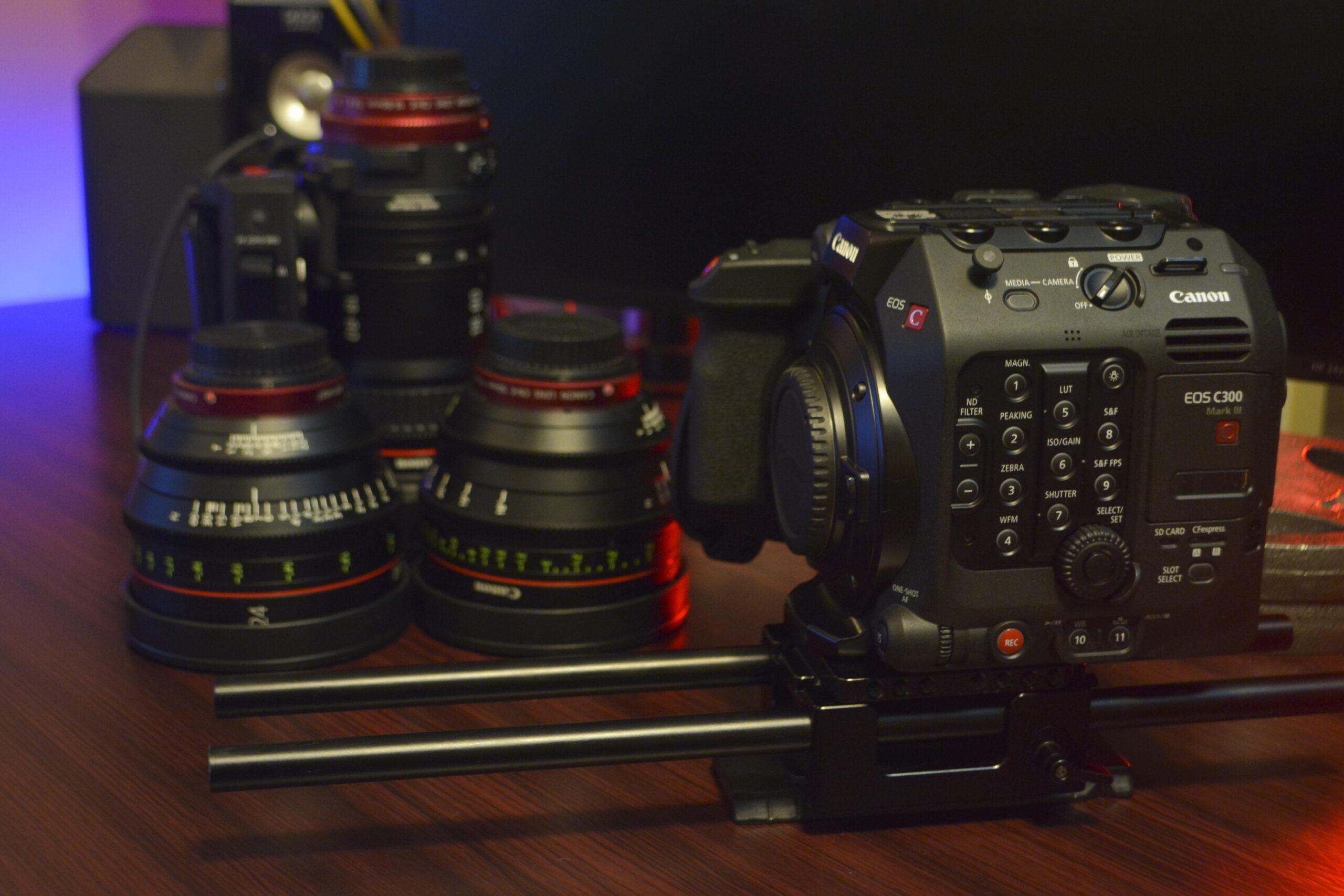 Canon C300 Mark III in Houston TX