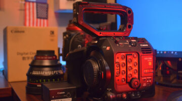 Canon EOS C500 Mark II in Houston