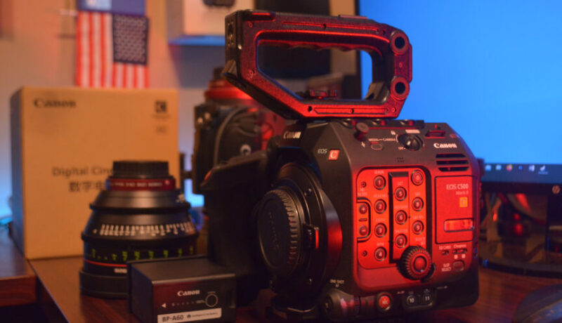Canon EOS C500 Mark II in Houston