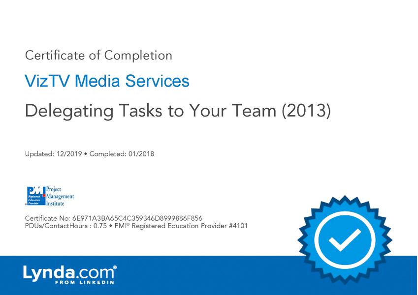 Delegating Tasks to Team
