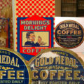 Gold Medal Coffee Graphic Restoration Project
