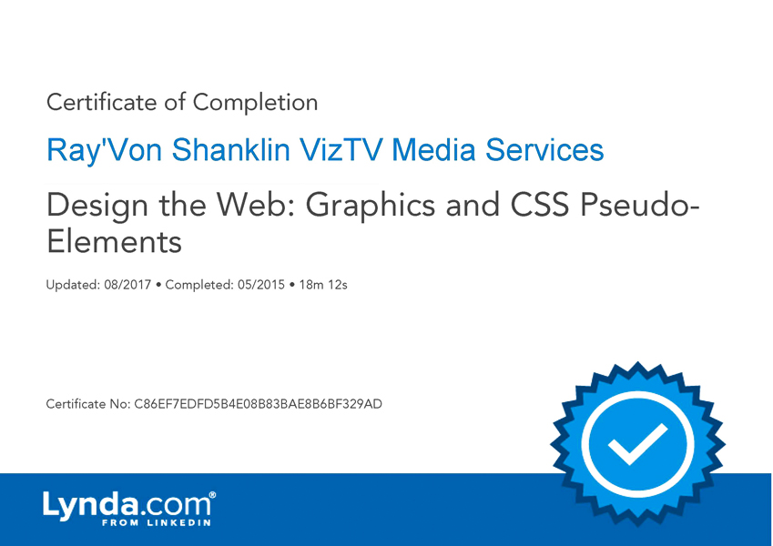 Design The Web: Graphics and CSS Psuedo Elements